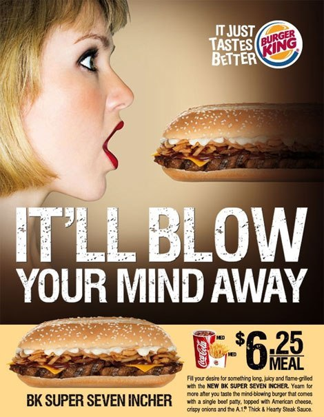 Burger King blowjob ad