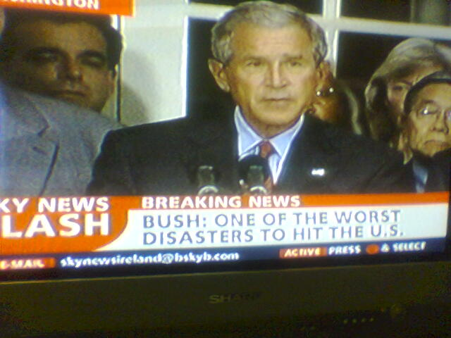 Bush: Worst disaster to hit U.S.