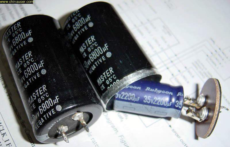 Chinese capacitors