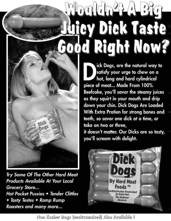 Dick dogs