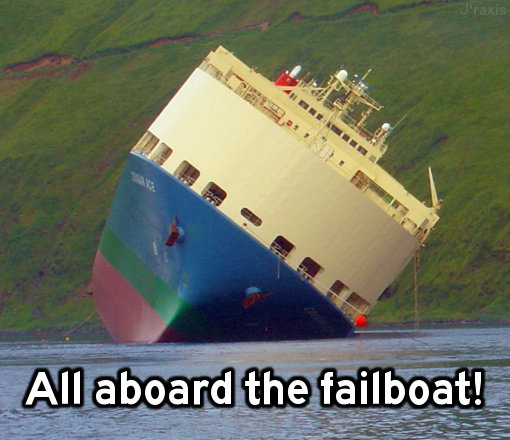 The failboat