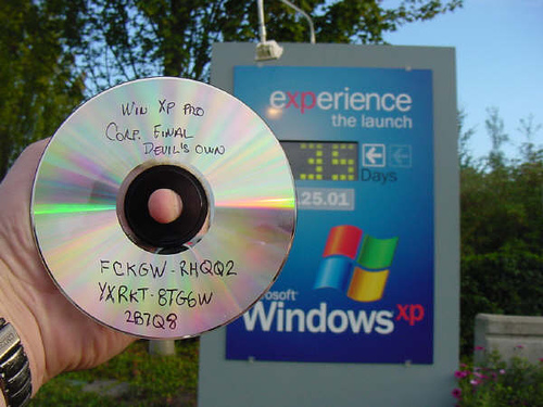 FCKGW license key on a Windows CD