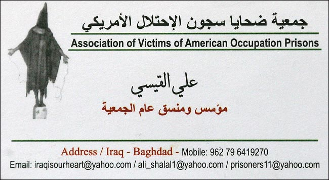 Assoc. of Victims of American Occupation Prisons