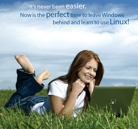 Linux ad for foot fetishists