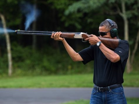 Obama shooting (original)