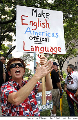 America's offical [sic] language