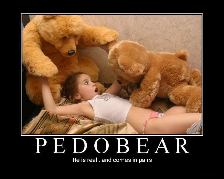 Pedobear comes in pairs