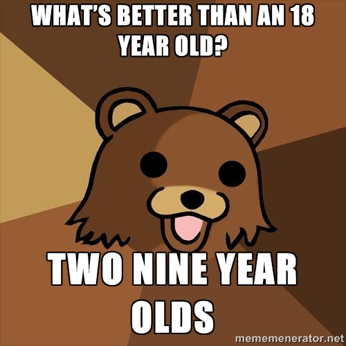 Youth Mentor Bear: Two nine-year-olds